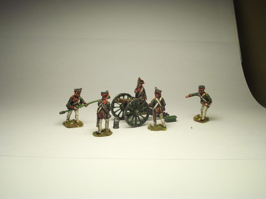 Фигурки: Русская артиллерия, 1812 г., фото #6