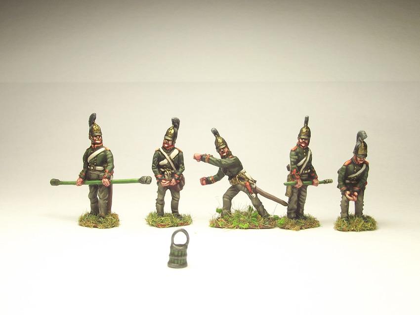 Фигурки: Русская артиллерия, 1812 г., фото #7