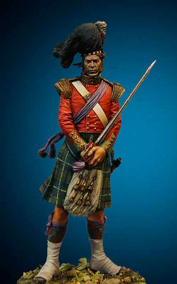 Фигурки:  79-й (Шотландские горцы Камерона) пехотный полк