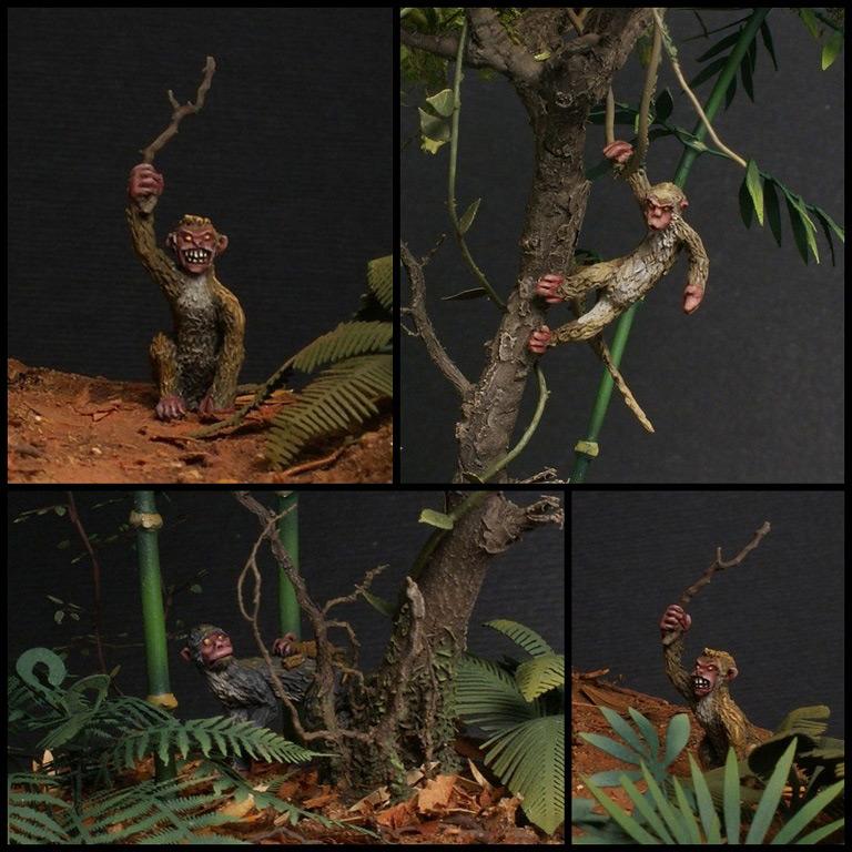 Диорамы и виньетки: Чертовы обезьяны!, фото #21
