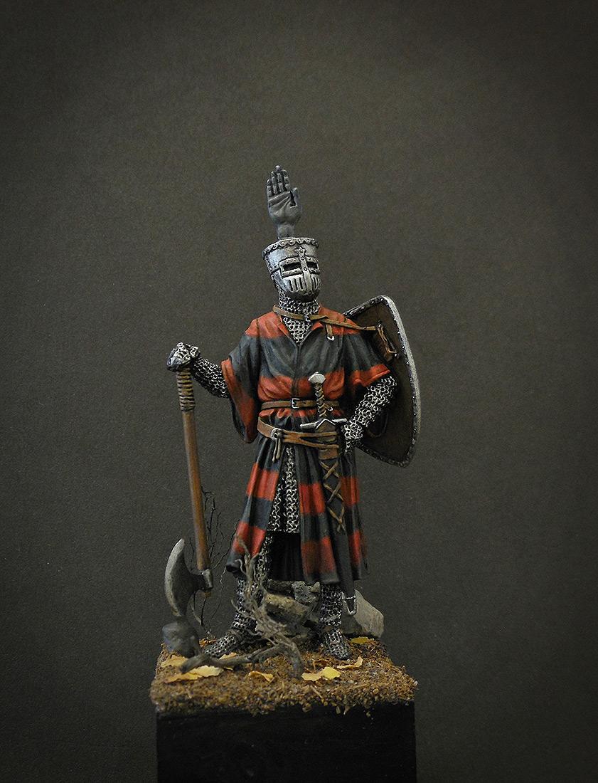 Фигурки: Германский рыцарь, 1200 г., фото #1