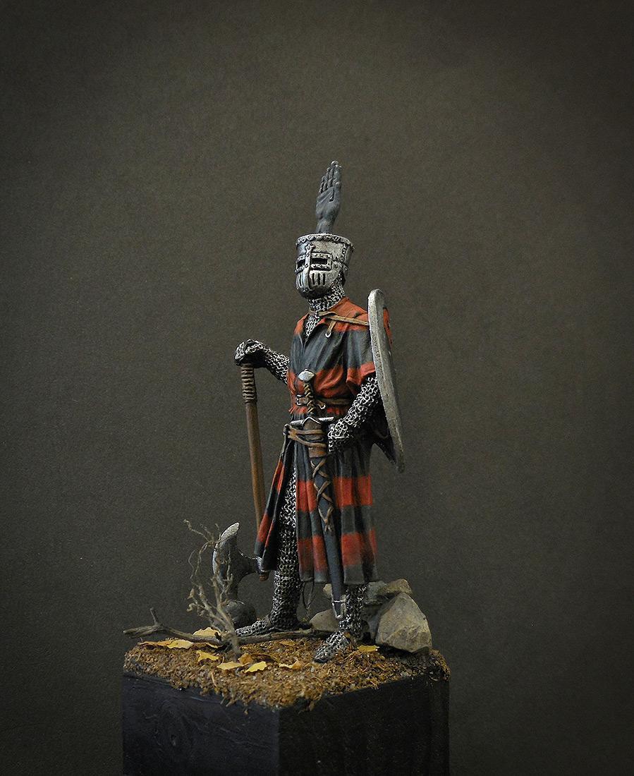 Фигурки: Германский рыцарь, 1200 г., фото #2