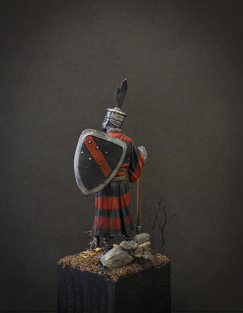 Фигурки: Германский рыцарь, 1200 г., фото #3