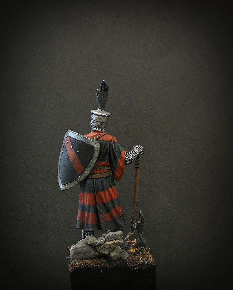 Фигурки: Германский рыцарь, 1200 г., фото #4