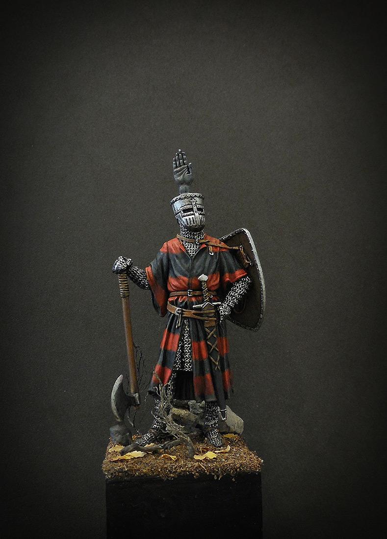Фигурки: Германский рыцарь, 1200 г., фото #7