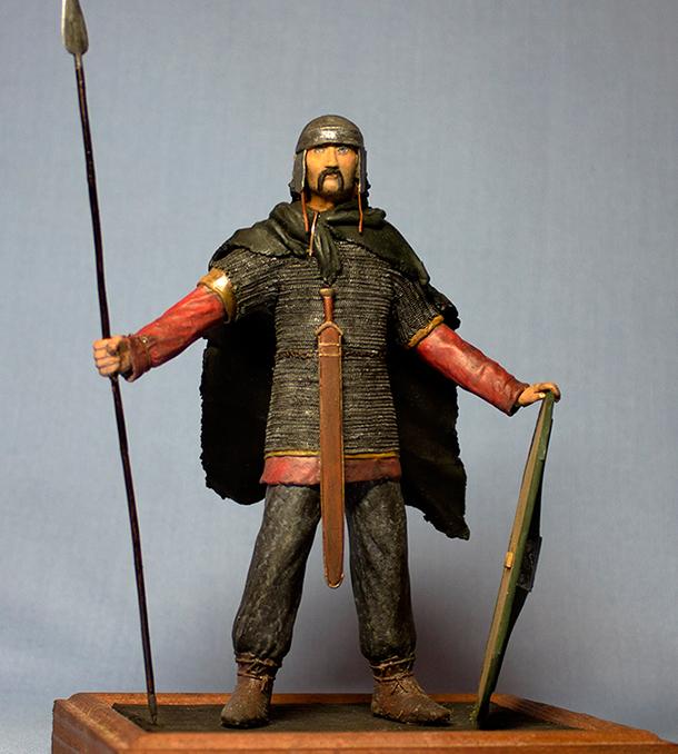 Скульптура: Знатный воин-галл 1в до Н.Э.