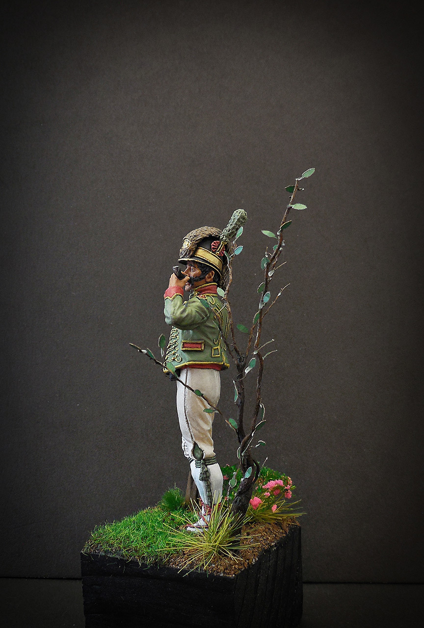 Фигурки: Рядовой Каталонского батальона лёгкой пехоты. Испания, 1807-08, фото #3