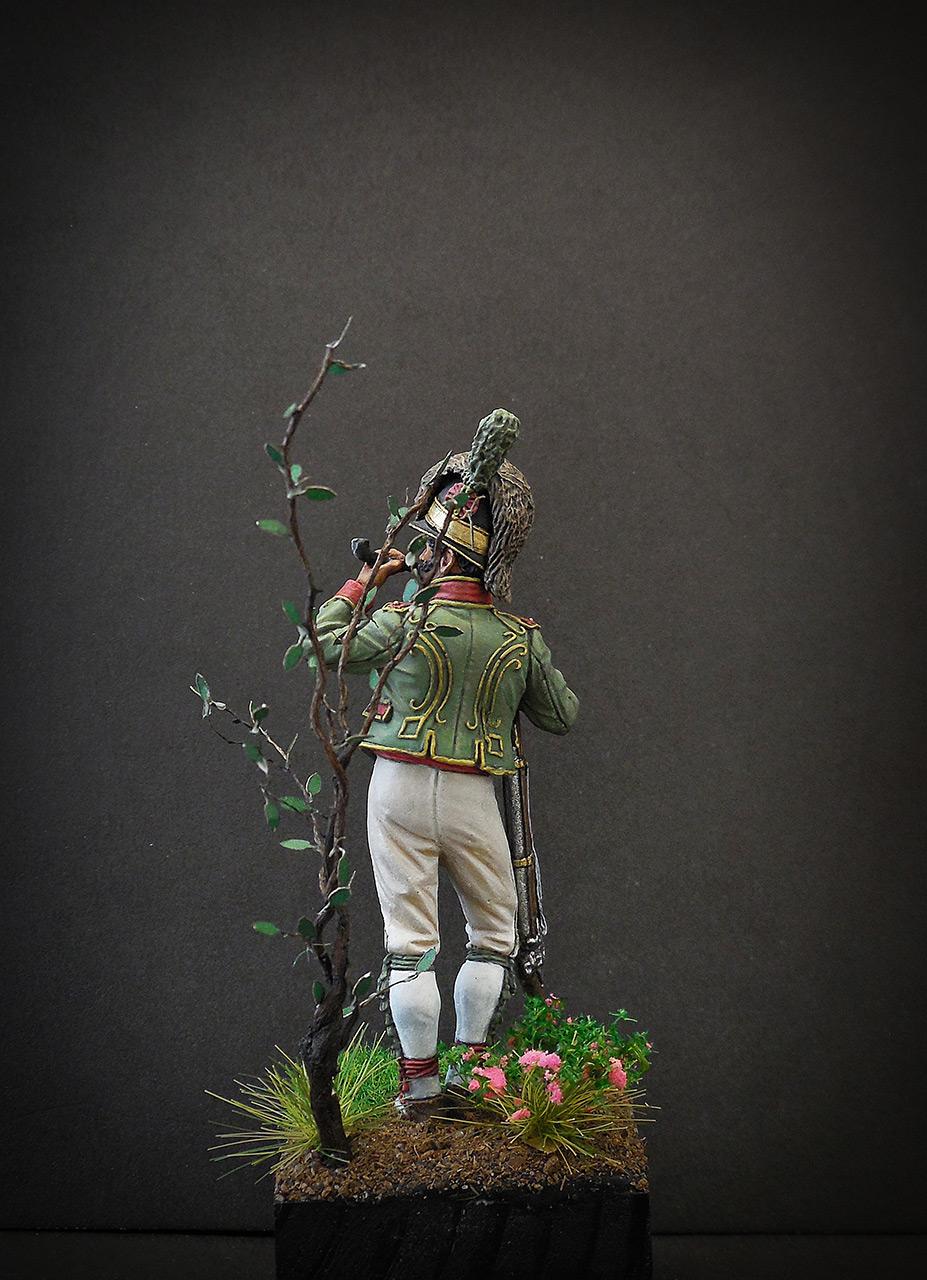 Фигурки: Рядовой Каталонского батальона лёгкой пехоты. Испания, 1807-08, фото #4