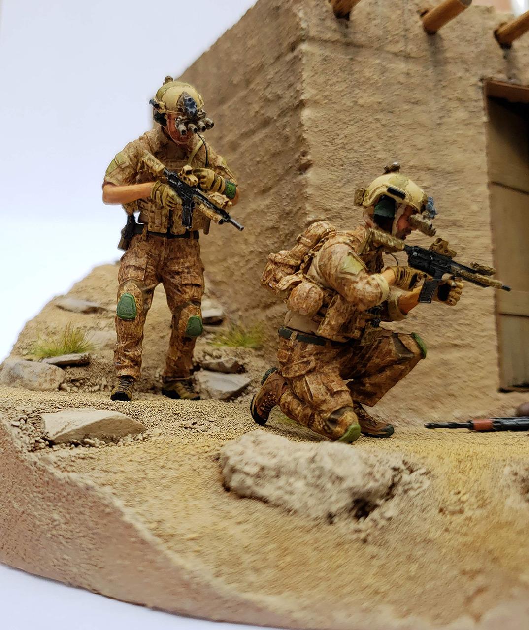 Диорамы и виньетки: Navy SEAL в Афганистане, фото #12