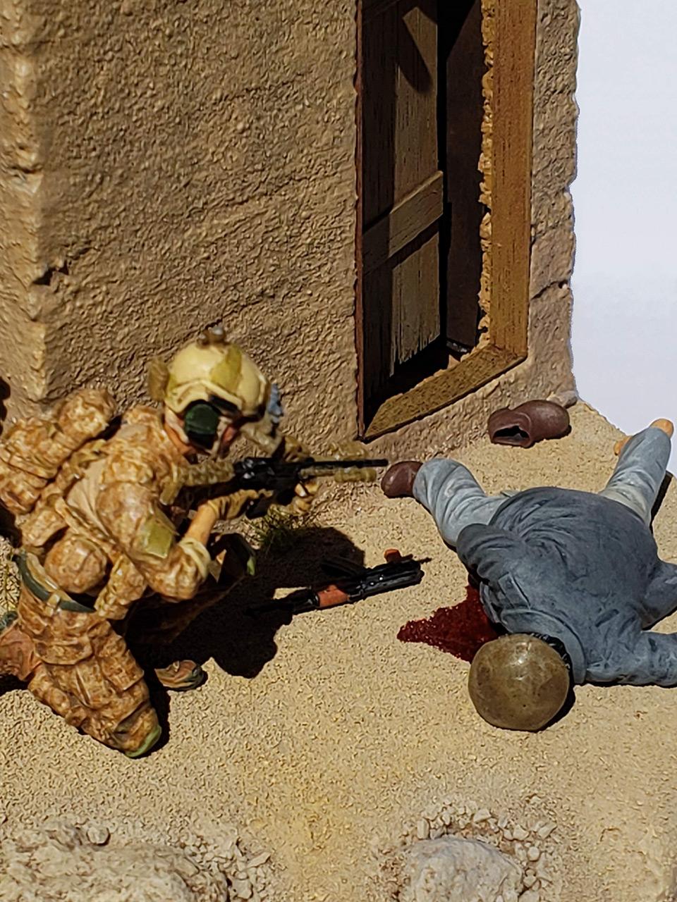 Диорамы и виньетки: Navy SEAL в Афганистане, фото #13