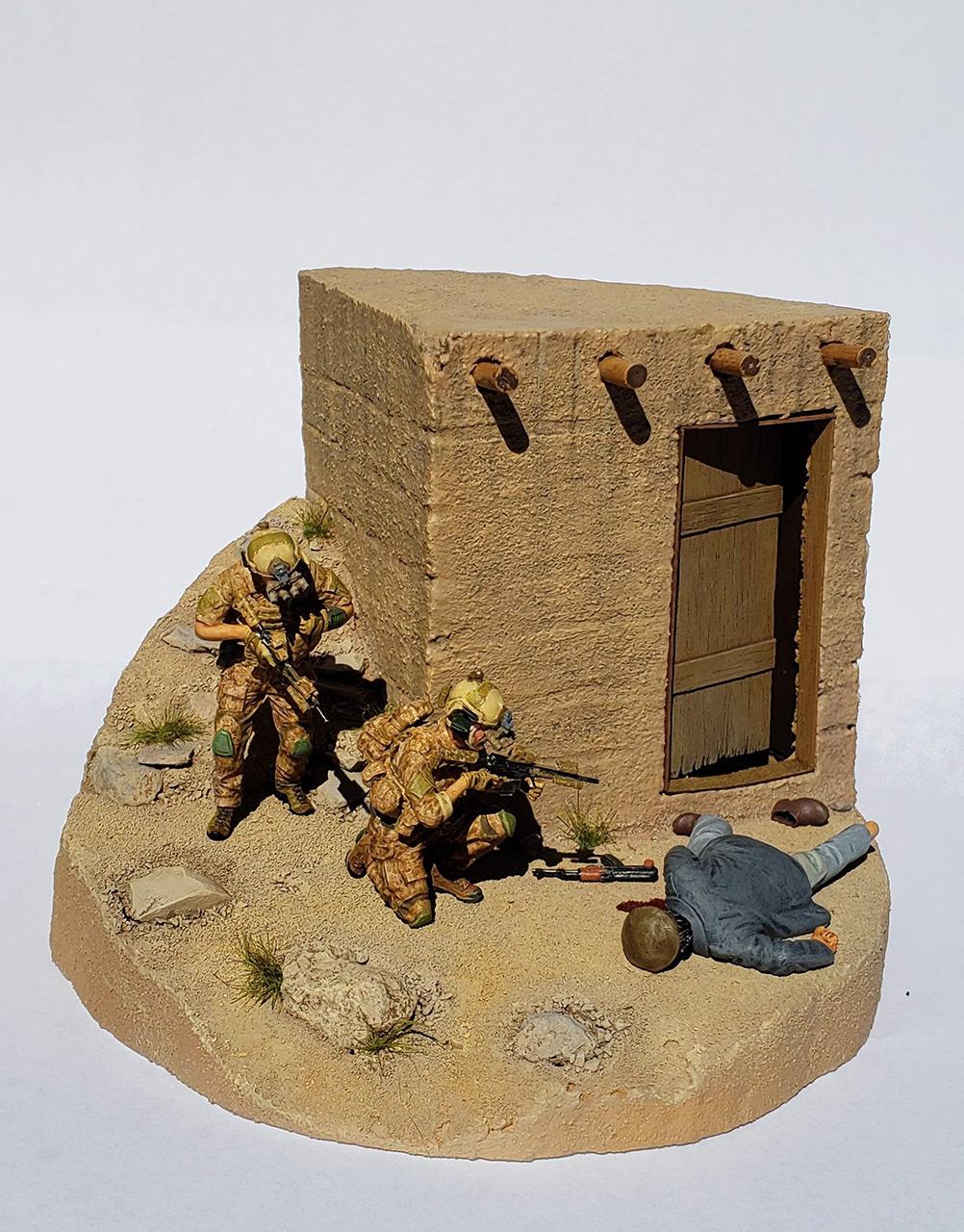 Диорамы и виньетки: Navy SEAL в Афганистане, фото #2