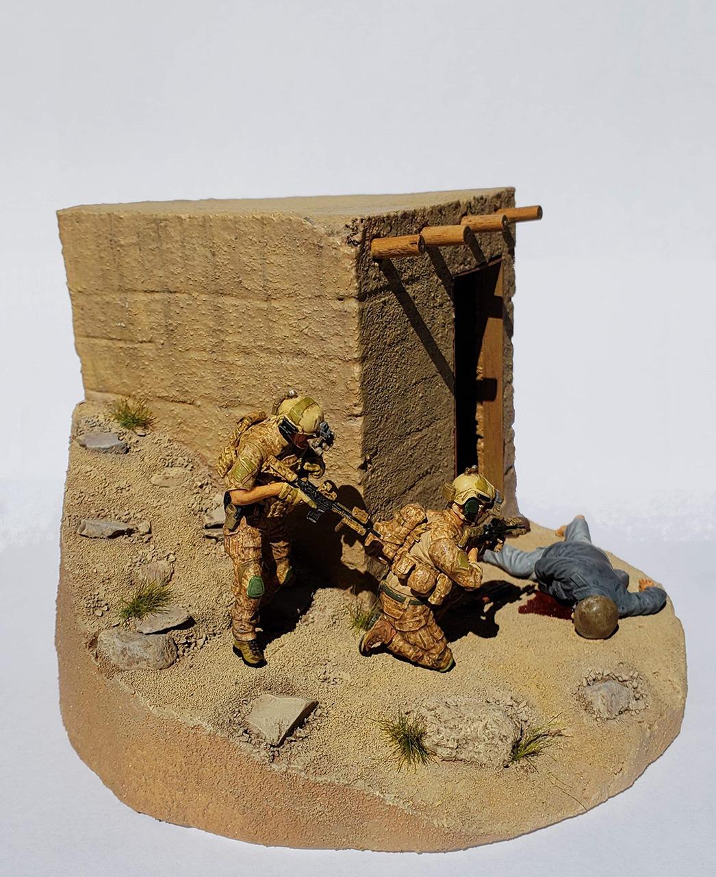 Диорамы и виньетки: Navy SEAL в Афганистане, фото #3