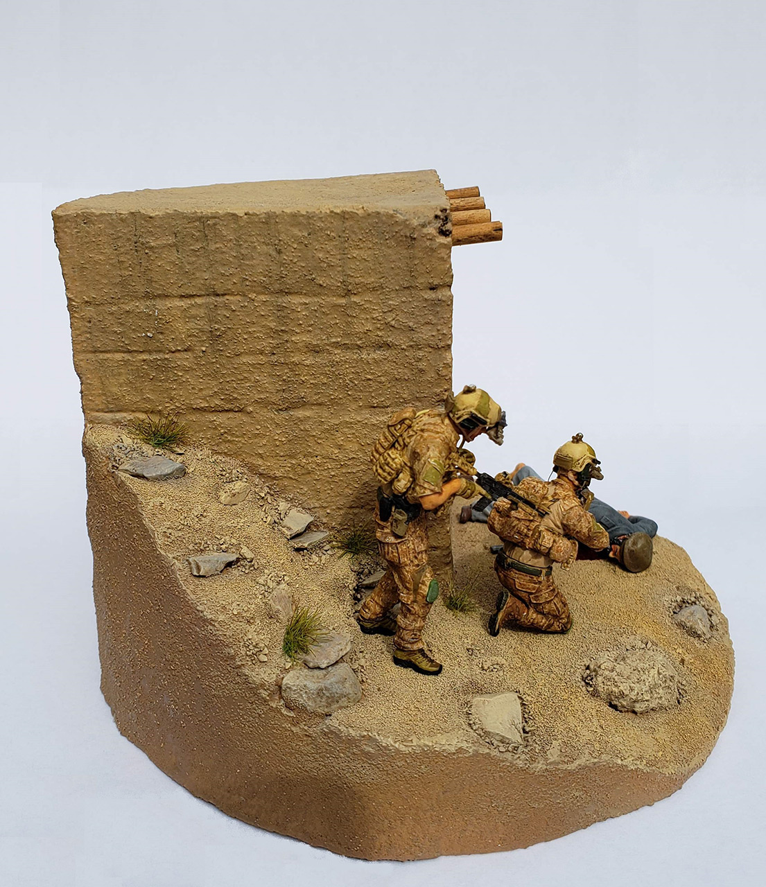 Диорамы и виньетки: Navy SEAL в Афганистане, фото #4