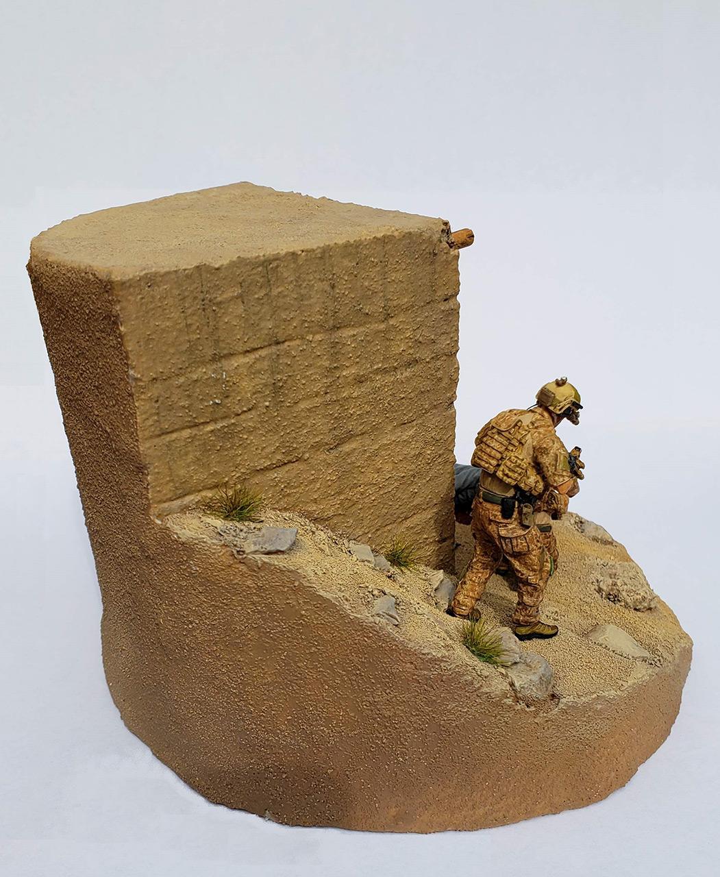 Диорамы и виньетки: Navy SEAL в Афганистане, фото #5