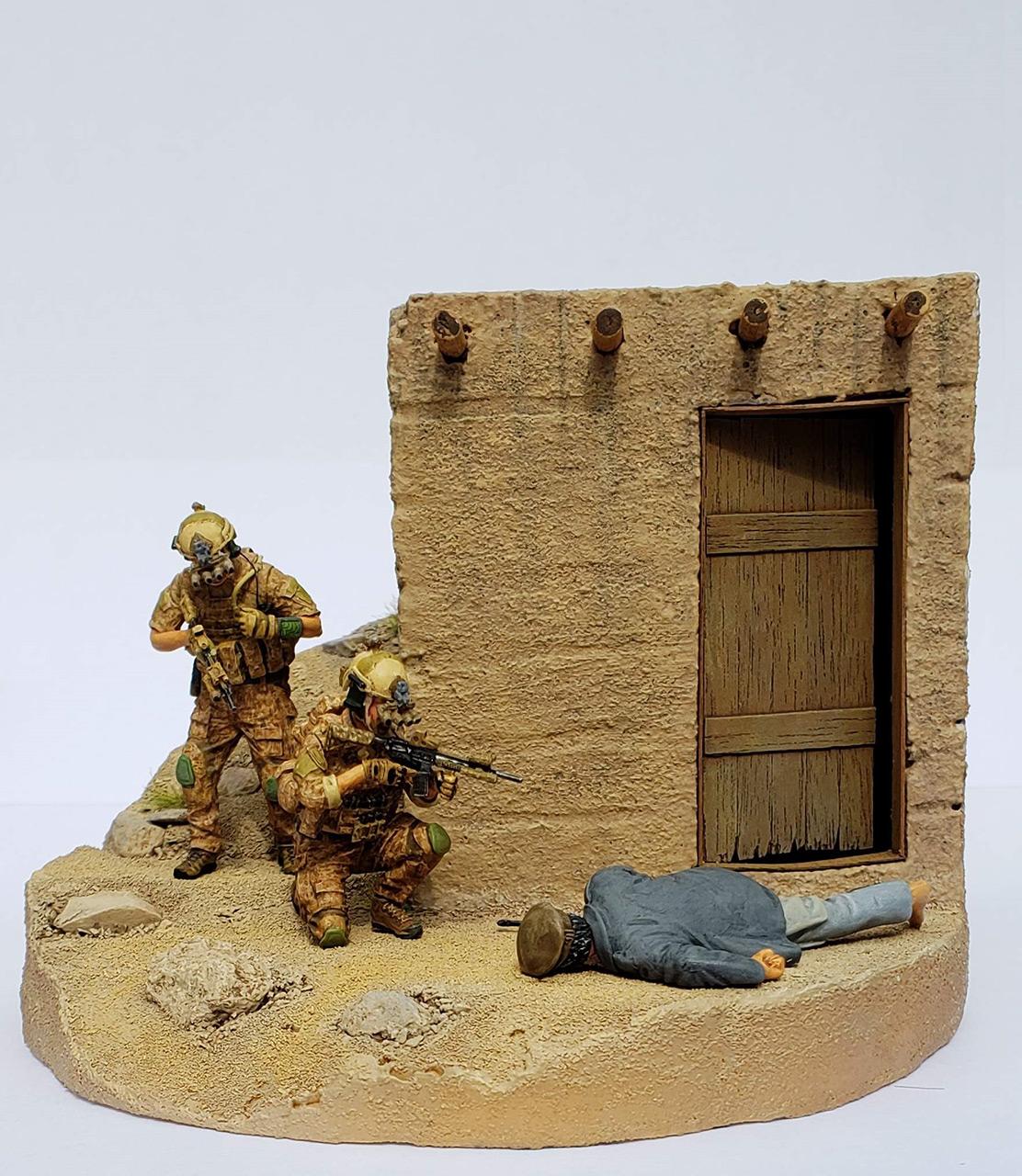 Диорамы и виньетки: Navy SEAL в Афганистане, фото #6