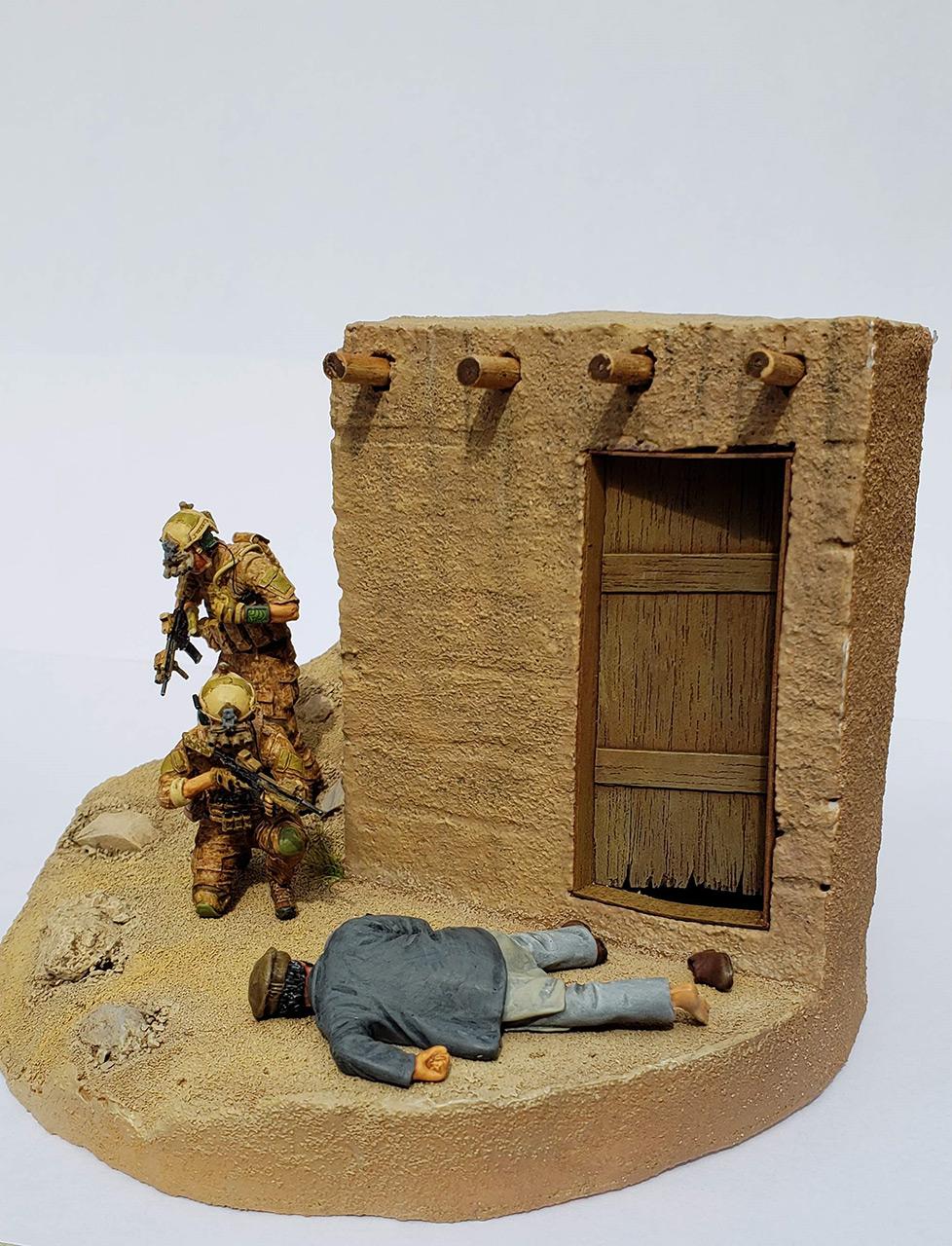 Диорамы и виньетки: Navy SEAL в Афганистане, фото #7