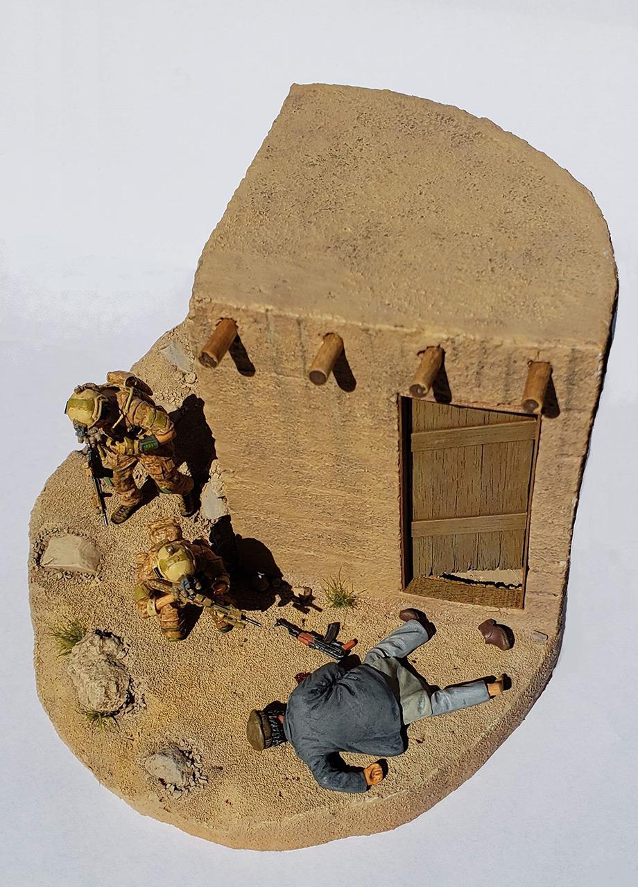 Диорамы и виньетки: Navy SEAL в Афганистане, фото #8