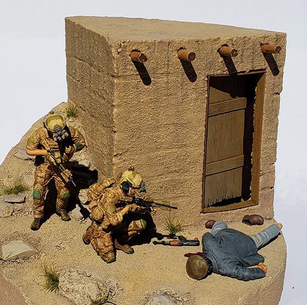 Диорамы и виньетки: Navy SEAL в Афганистане