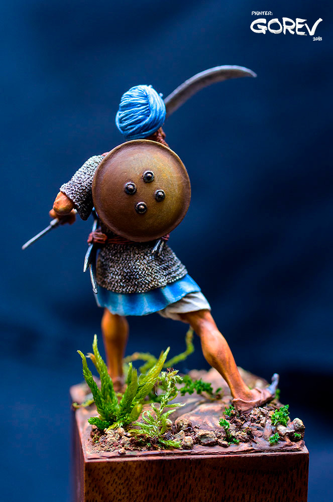 Фигурки: Воин - Акали, армия Сикхов, Индия, XVII в., фото #4