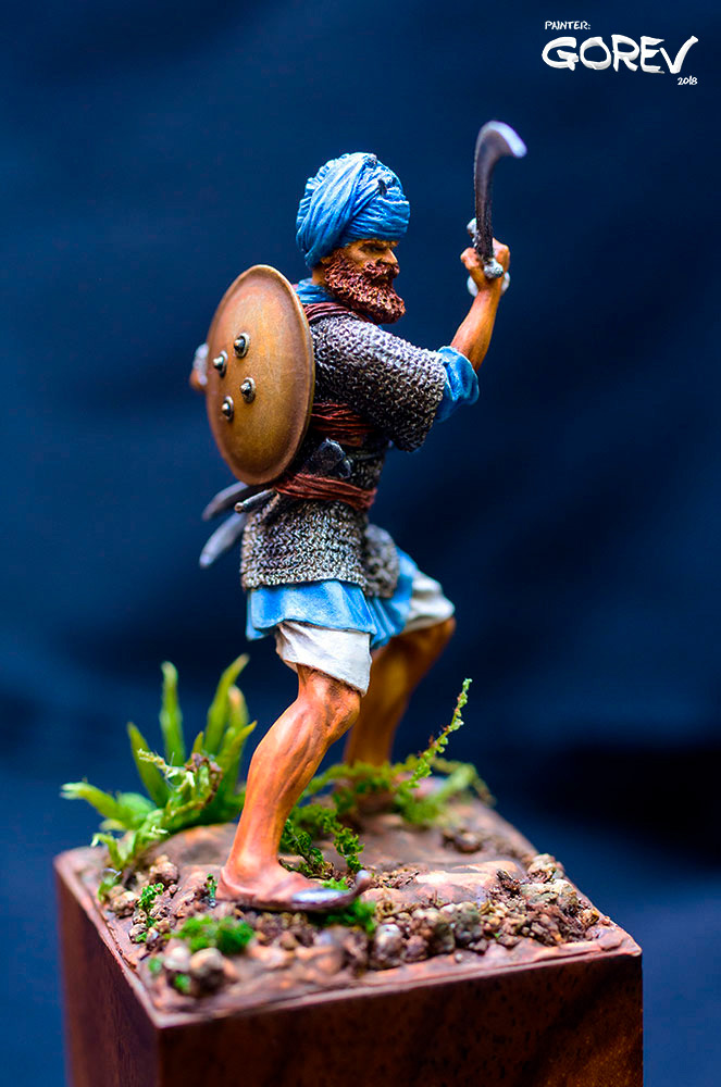 Фигурки: Воин - Акали, армия Сикхов, Индия, XVII в., фото #5