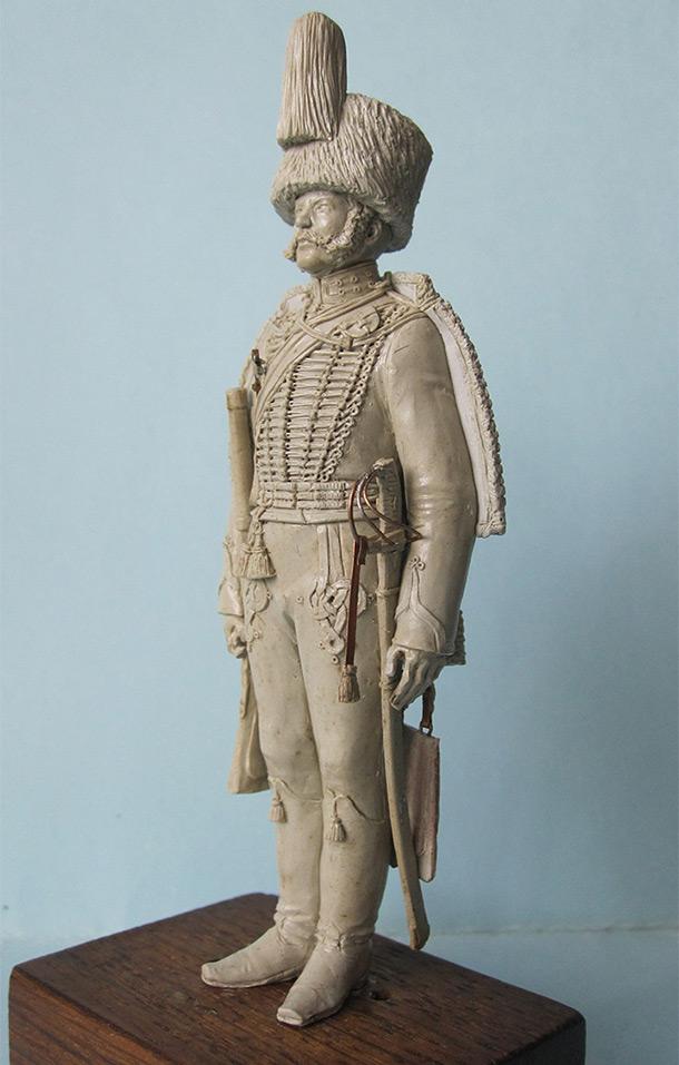 Скульптура: Гвардейский гусар, 1849 г.