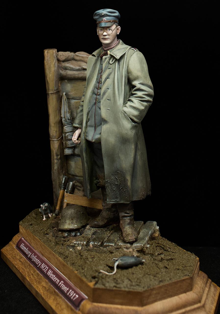 Фигурки: Гамбургский пехотный сержант, 1917 год, фото #1
