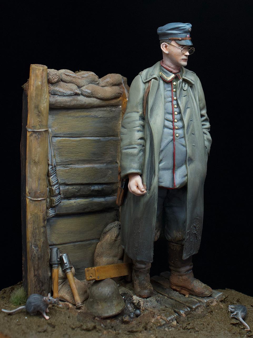Фигурки: Гамбургский пехотный сержант, 1917 год, фото #3