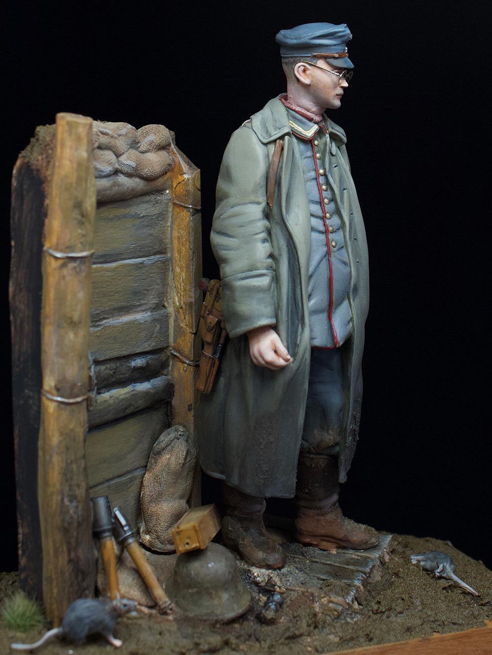 Фигурки: Гамбургский пехотный сержант, 1917 год, фото #6