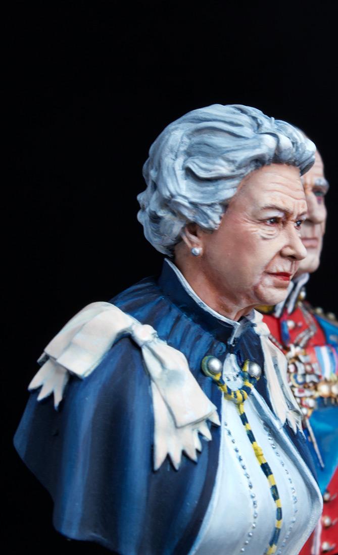 Фигурки:  Елизавета Вторая и Принц Филип, фото #12