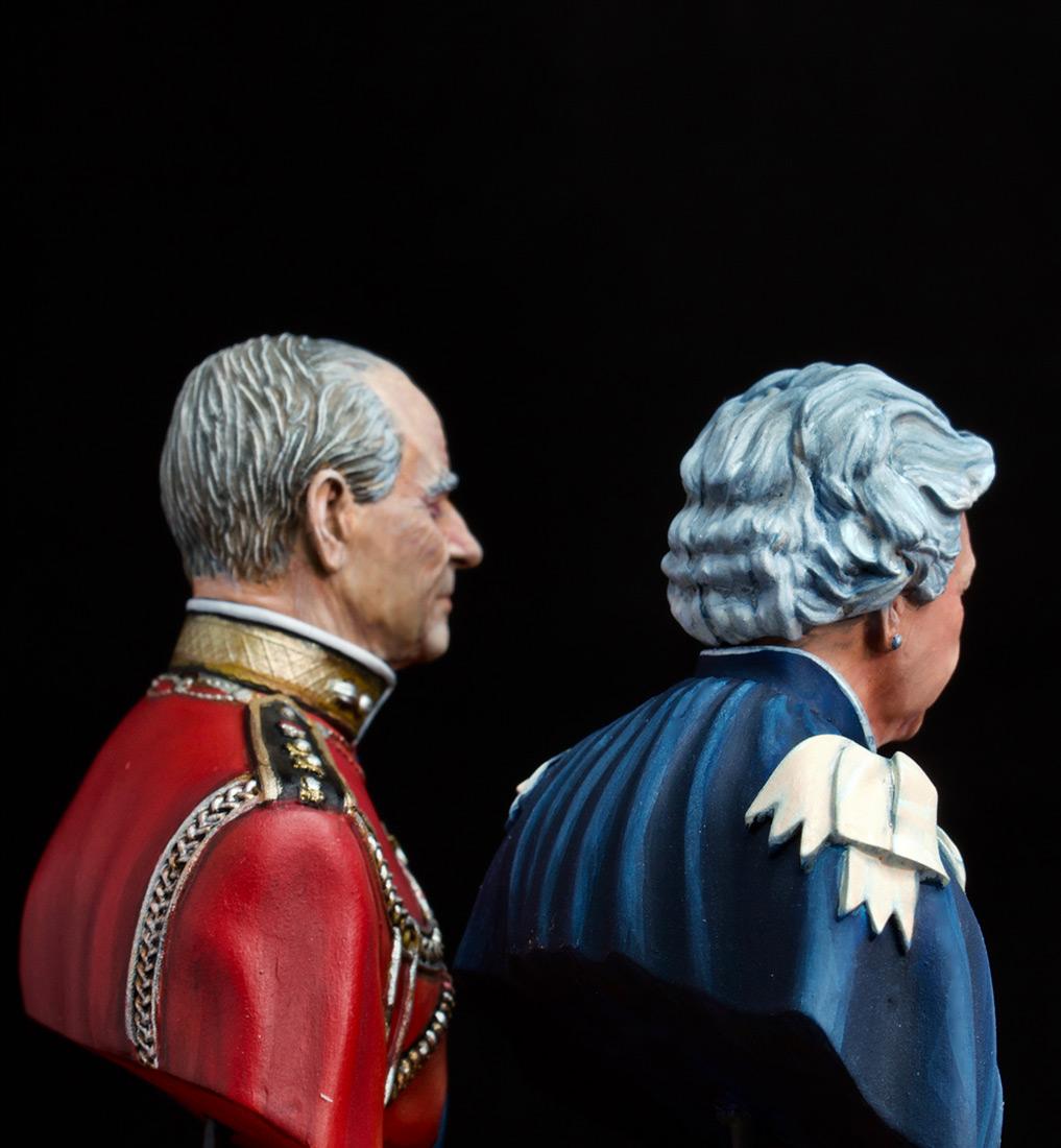 Фигурки:  Елизавета Вторая и Принц Филип, фото #6