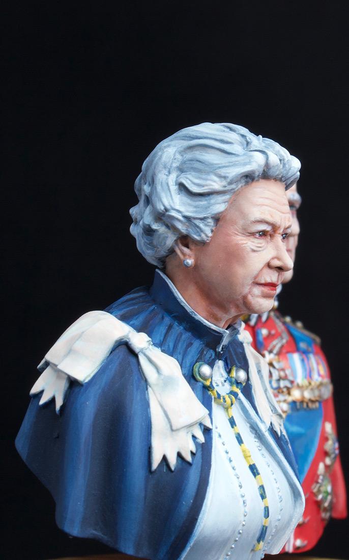 Фигурки:  Елизавета Вторая и Принц Филип, фото #9