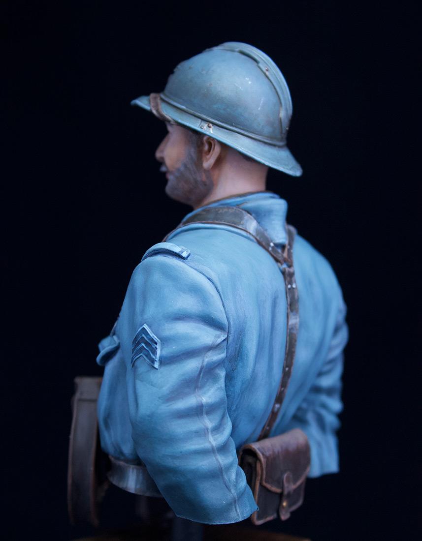 Фигурки: Французский пулеметчик, 62й полк, 1916, фото #5