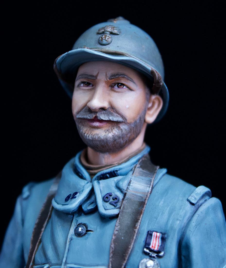 Фигурки: Французский пулеметчик, 62й полк, 1916, фото #7
