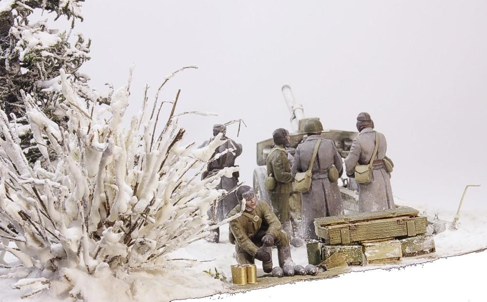 Диорамы и виньетки: Гремит в седых лесах суровый бог войны… , фото #6