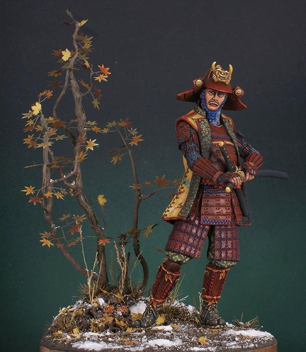 Фигурки: Самурай. XVI век