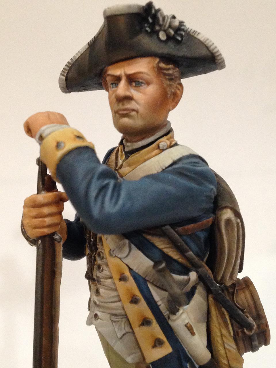 Фигурки:  Рядовой 1-го Нью-Йоркского полка Континентальной армии, фото #10