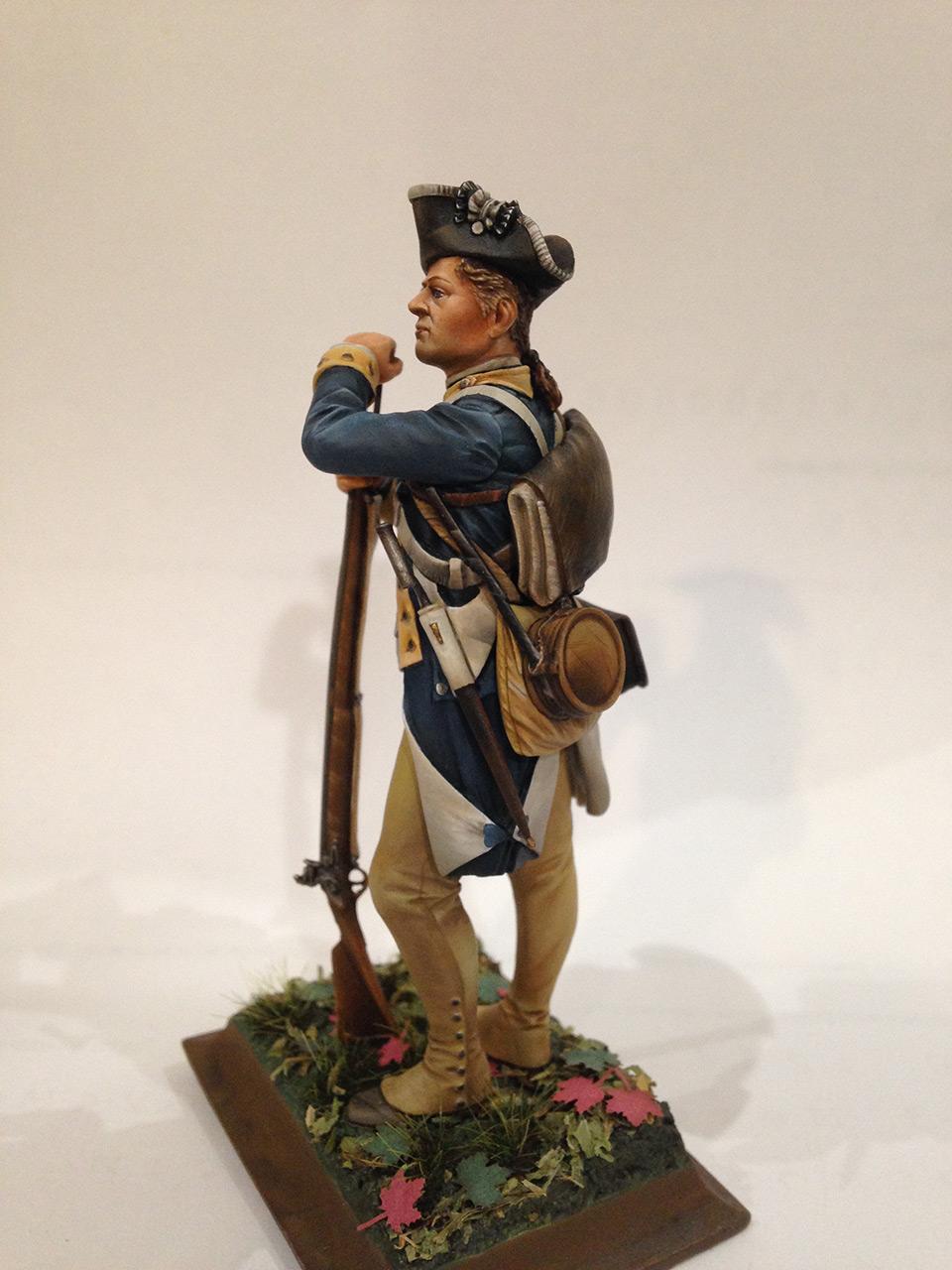 Фигурки:  Рядовой 1-го Нью-Йоркского полка Континентальной армии, фото #2