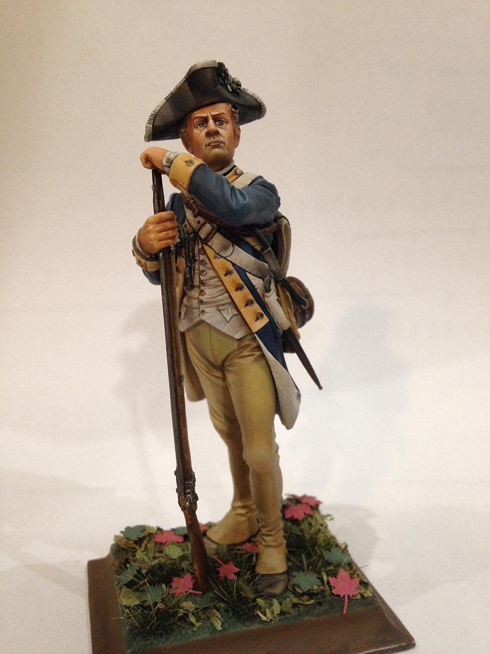 Фигурки:  Рядовой 1-го Нью-Йоркского полка Континентальной армии, фото #7