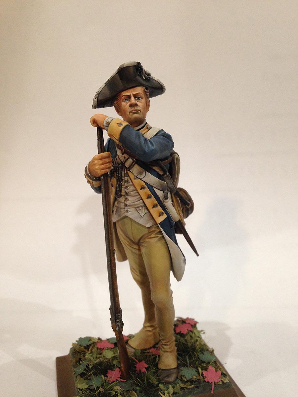 Фигурки:  Рядовой 1-го Нью-Йоркского полка Континентальной армии, фото #8