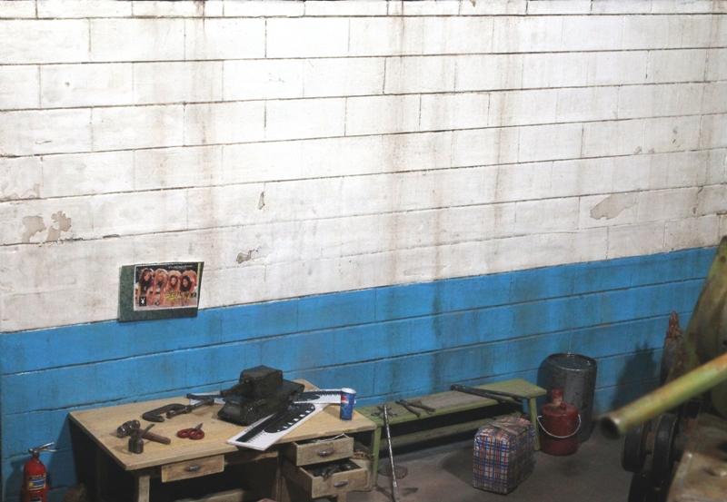 Диорамы и виньетки: КВ-1 на реставрации, фото #8