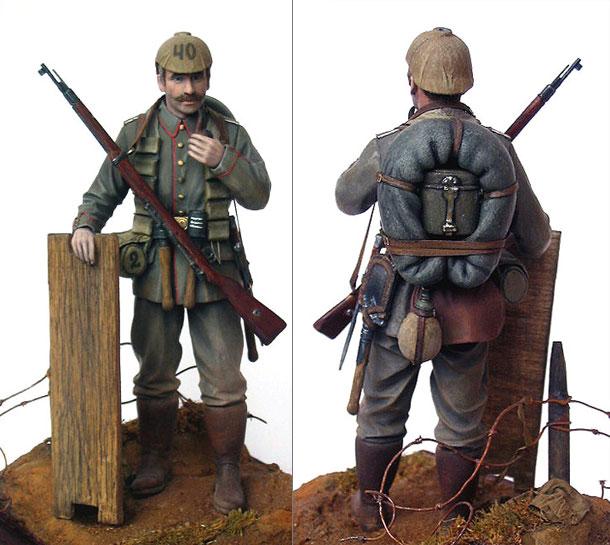 Фигурки: Боец немецкой штурмовой группы, 1915-16