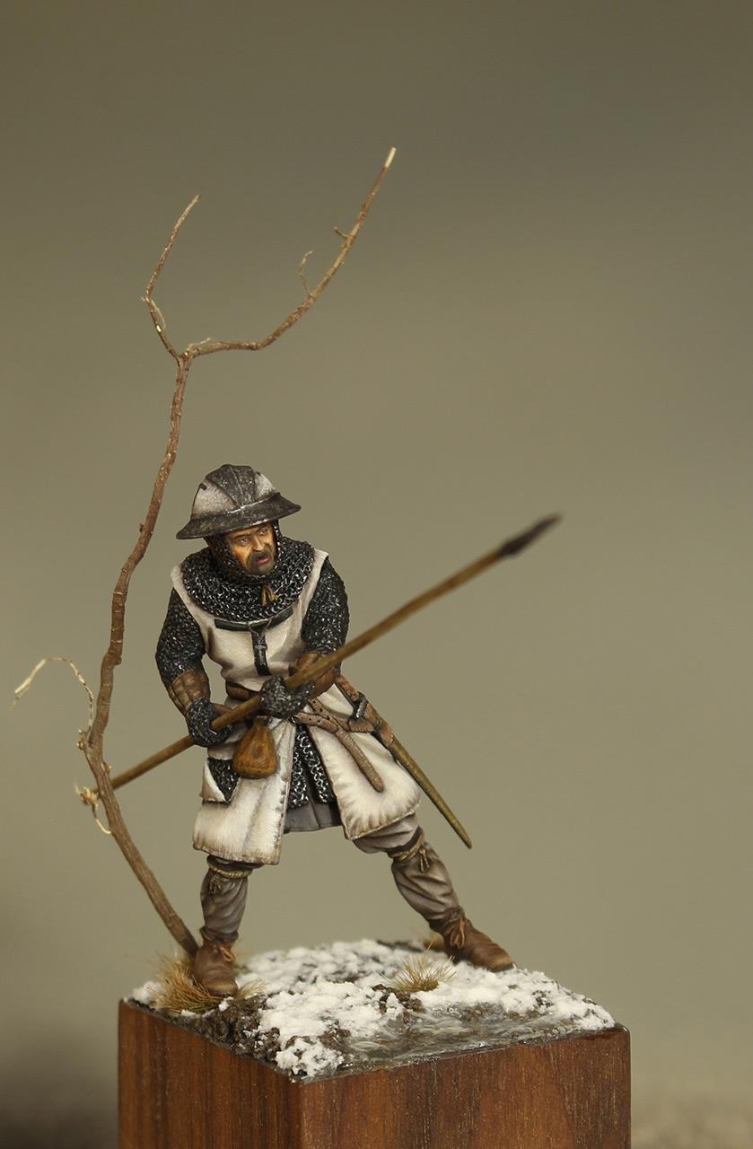 Фигурки: Европейский пехотинец, XIII в., фото #1