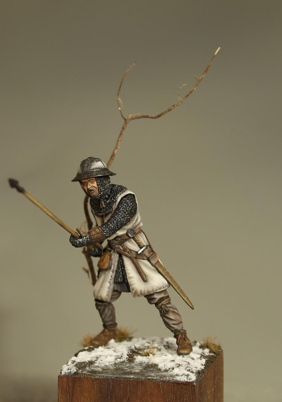 Фигурки: Европейский пехотинец, XIII в., фото #2