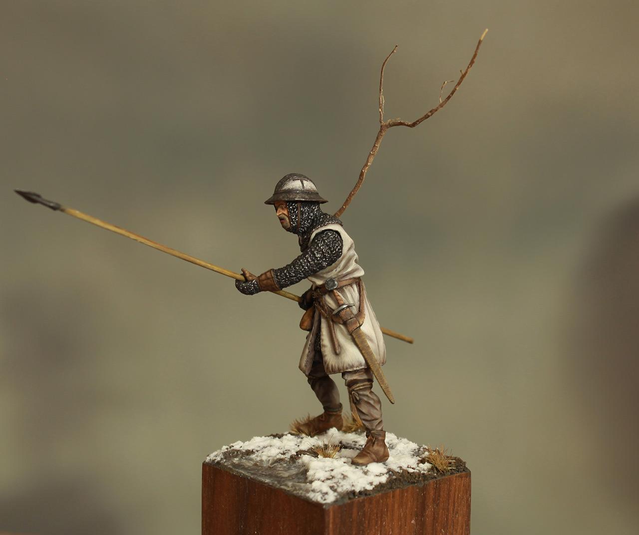 Фигурки: Европейский пехотинец, XIII в., фото #3