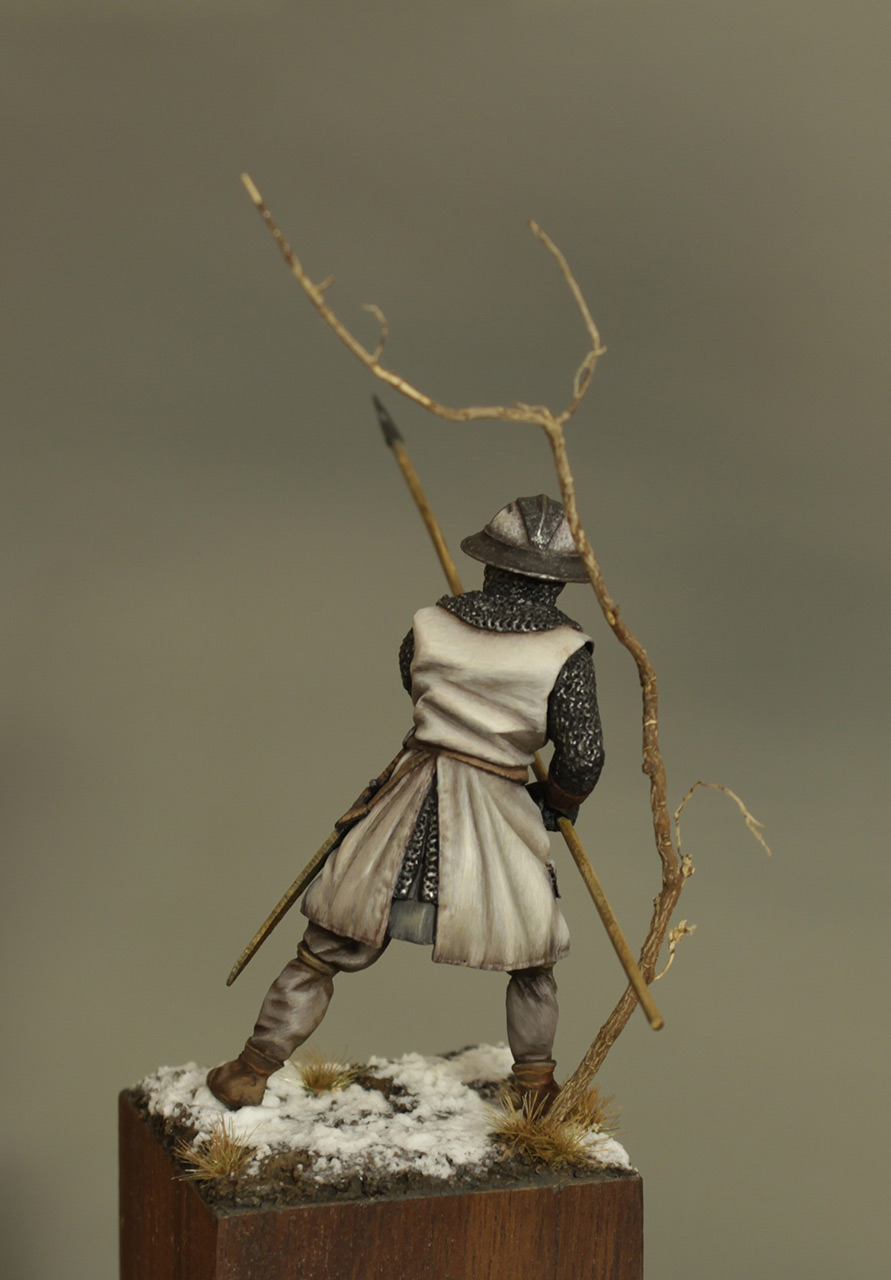 Фигурки: Европейский пехотинец, XIII в., фото #4