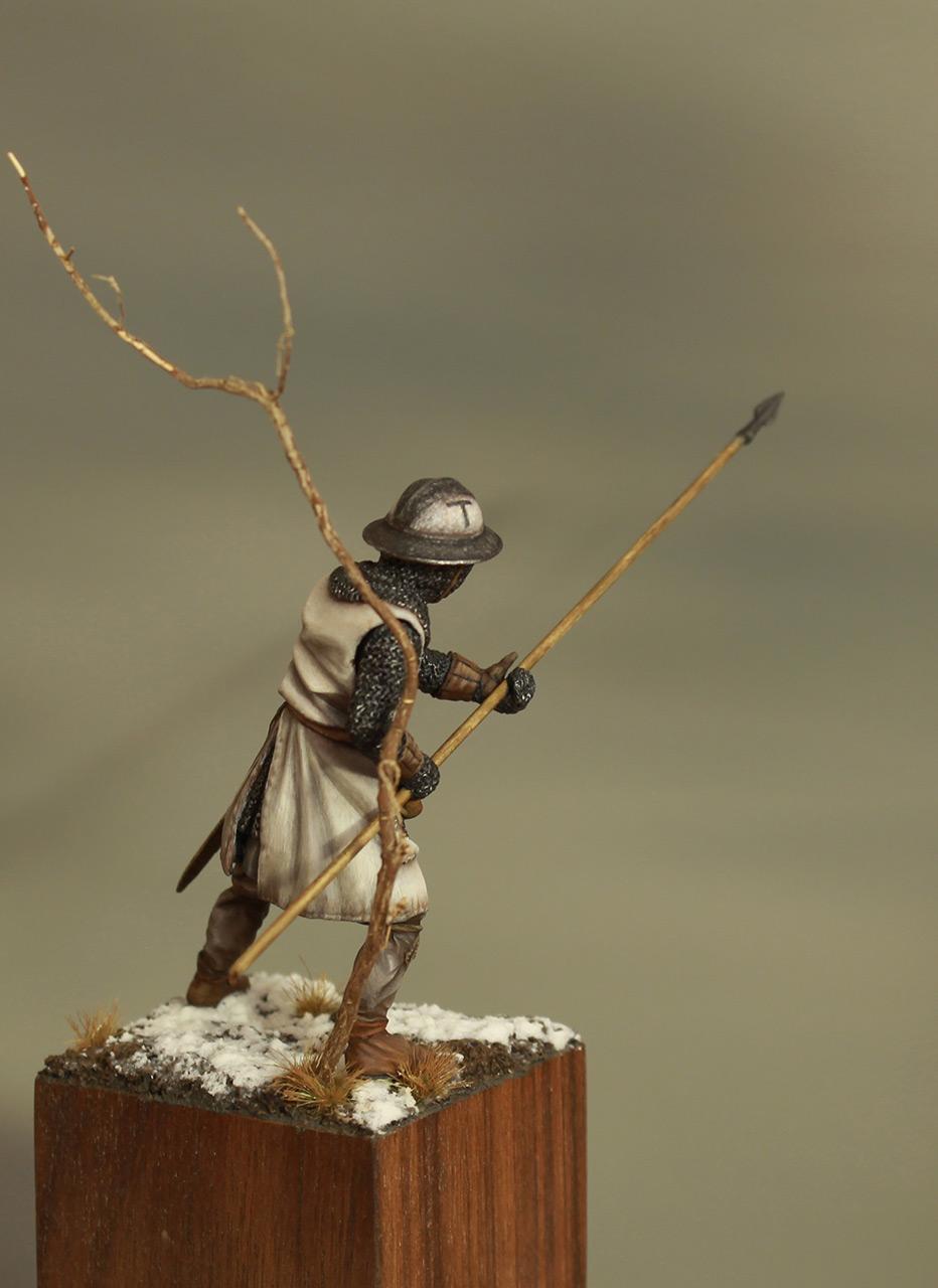 Фигурки: Европейский пехотинец, XIII в., фото #5