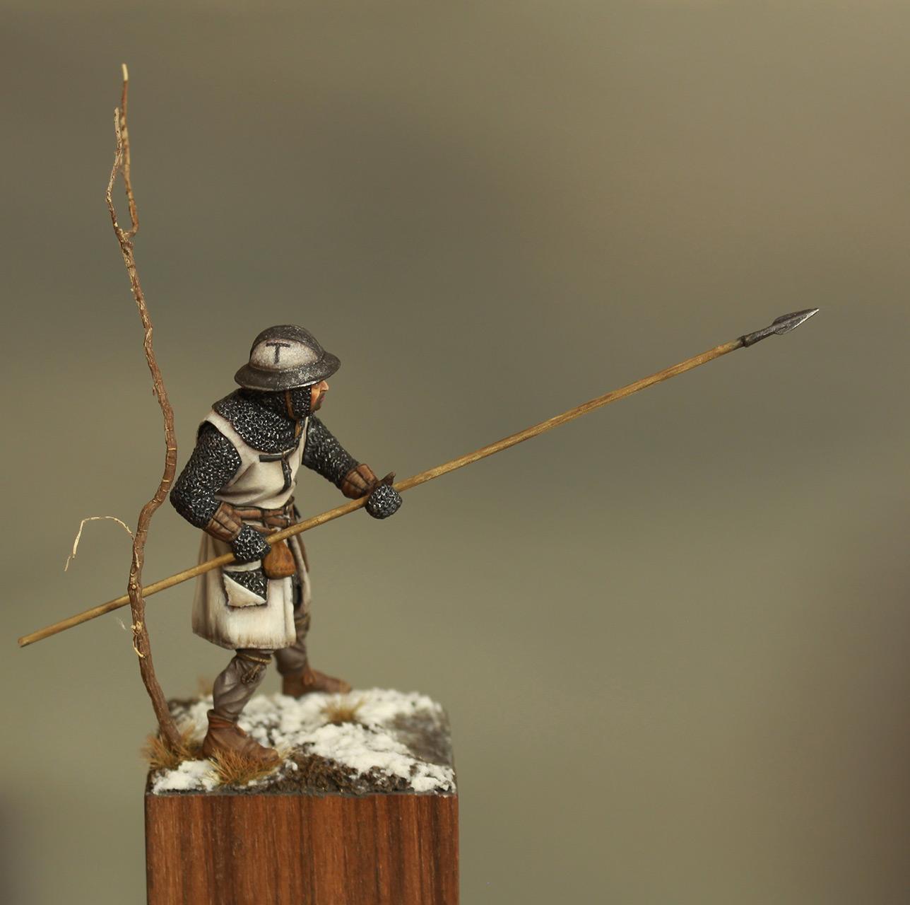 Фигурки: Европейский пехотинец, XIII в., фото #6