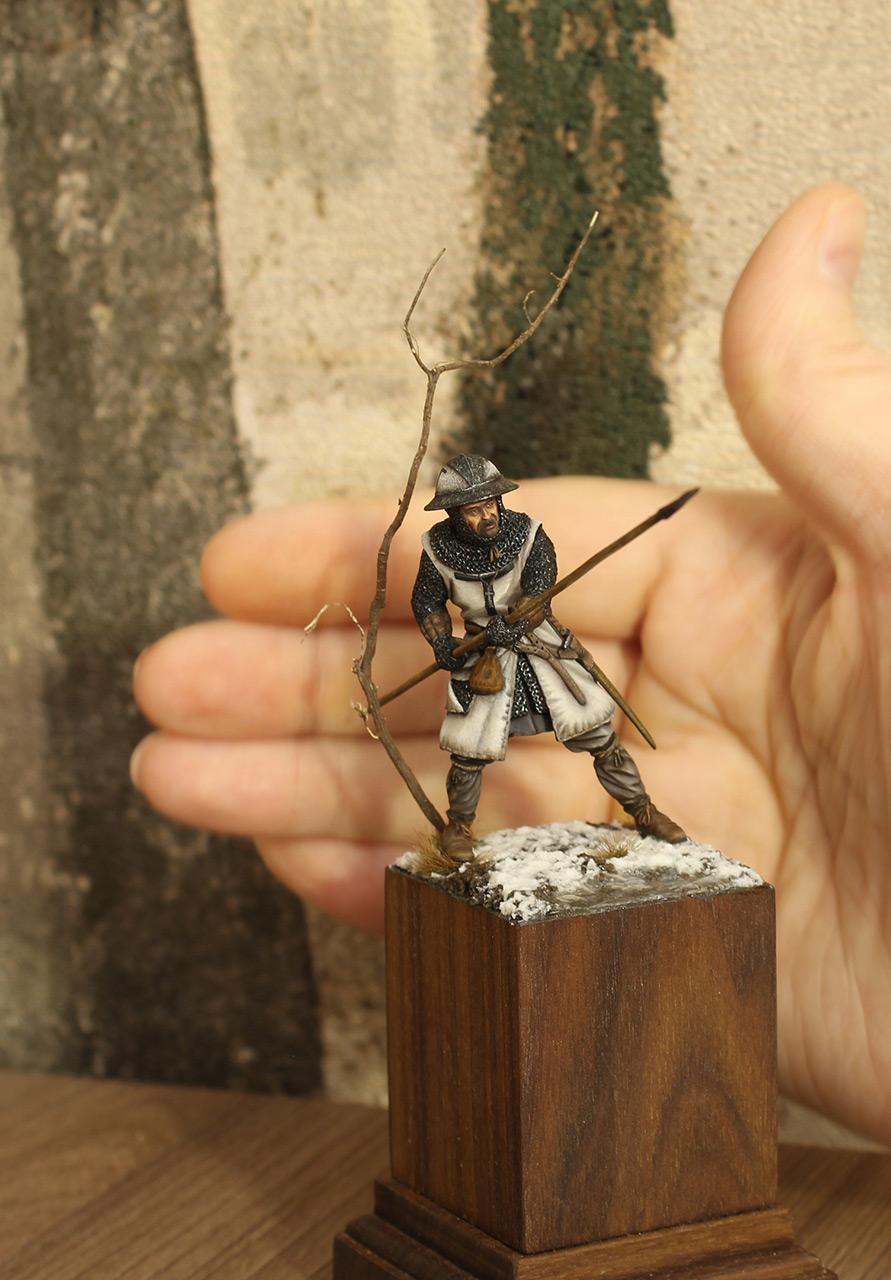 Фигурки: Европейский пехотинец, XIII в., фото #7