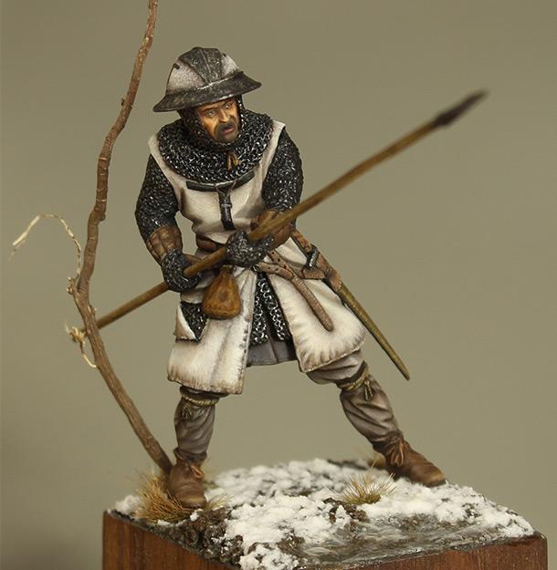 Фигурки: Европейский пехотинец, XIII в.