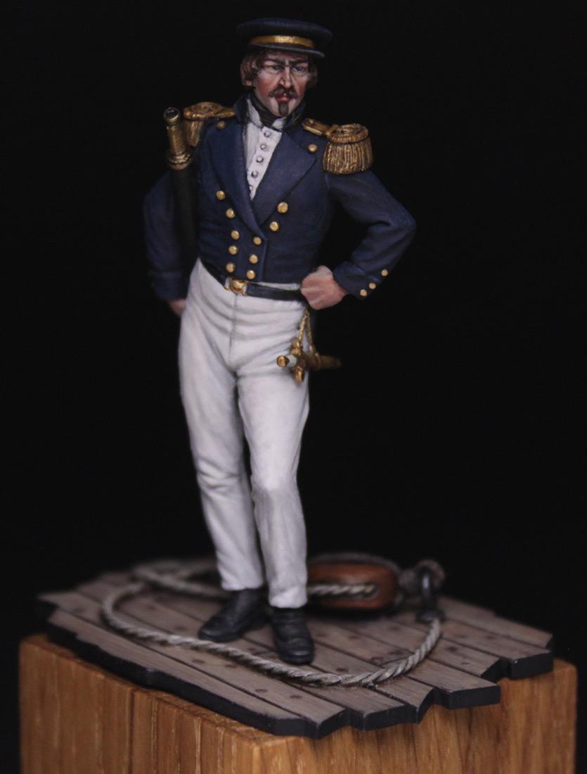 Фигурки:  Capitaine de corvette, Франция, 1845 г., фото #1